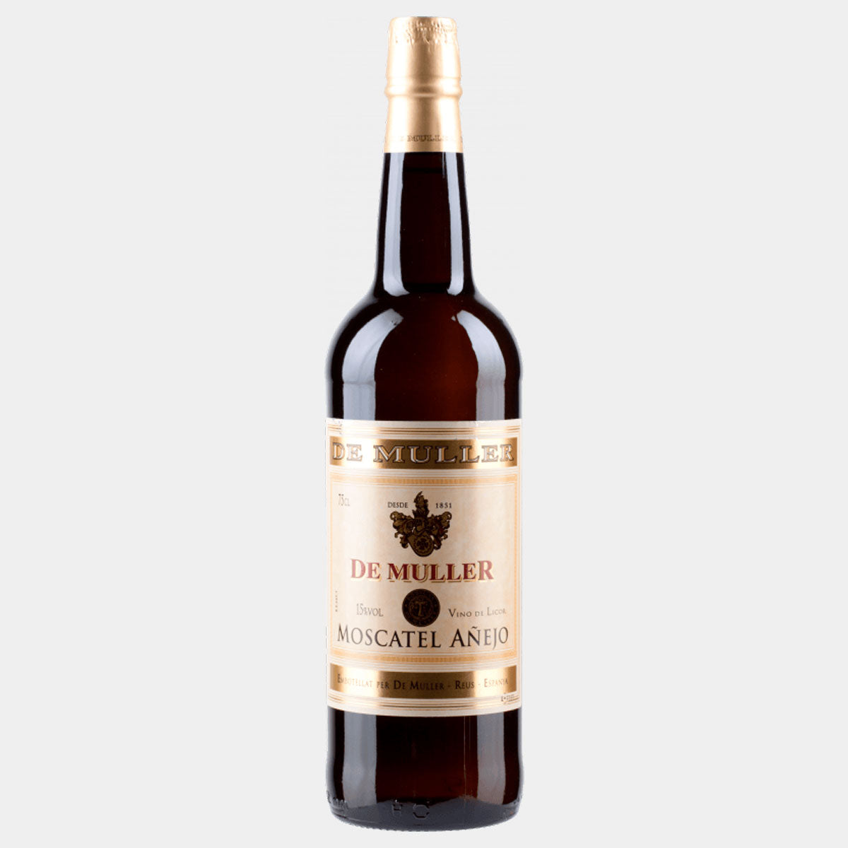 De Muller Moscatel Añejo - Wines and Copas Barcelona