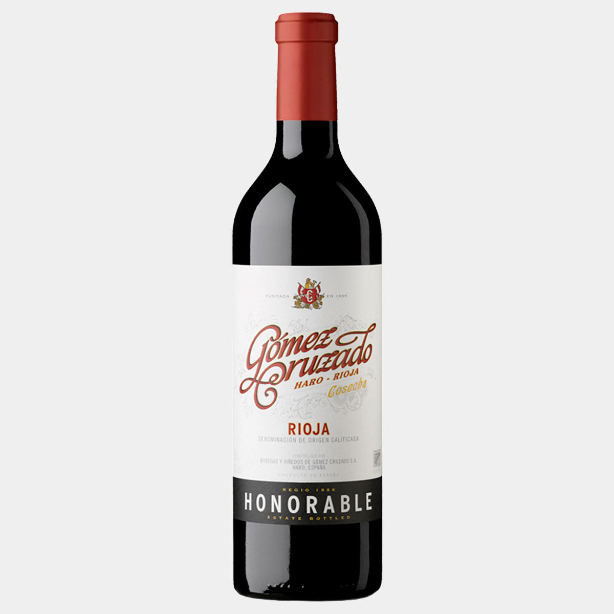 Gomez Cruzado Regio 1886 Honorable 2015 - Wines and Copas Barcelona