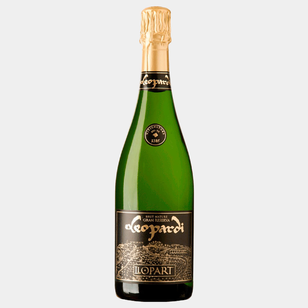 Llopart Leopardi Gran Reserva Brut Nature - Wines and Copas Barcelona