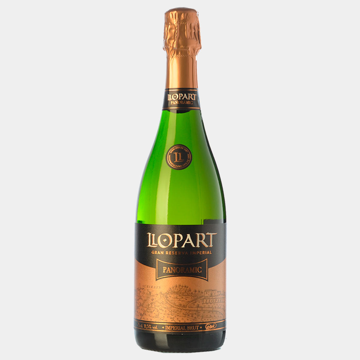 Llopart Panoramic Brut Gran Reserva 2013 - Wines and Copas Barcelona