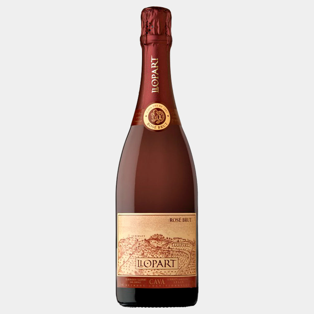 Llopart Rose Brut - Wines and Copas Barcelona