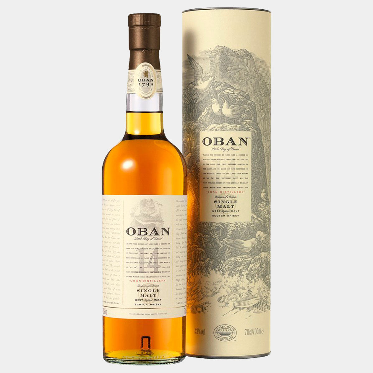 Whisky Oban 14Y Malt - Wines and Copas Barcelona