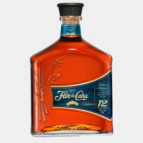 Ron Flor de Caña Centenario 12Y 1L - Wines and Copas Barcelona