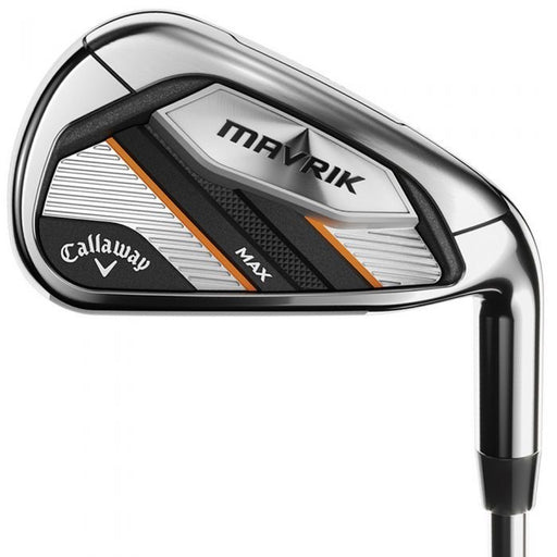 Callaway Maverik Max steel shafted irons(4-PW)7 irons***NEW***