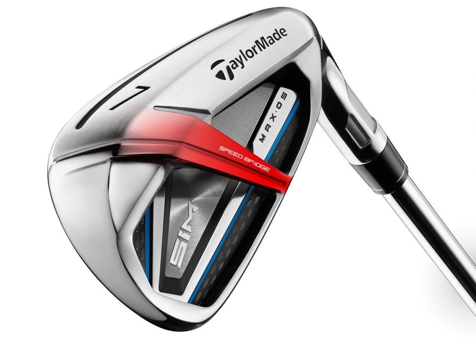 Taylormade SIM Max OS irons-graphite (4-PW)7 iron set.***NEW***