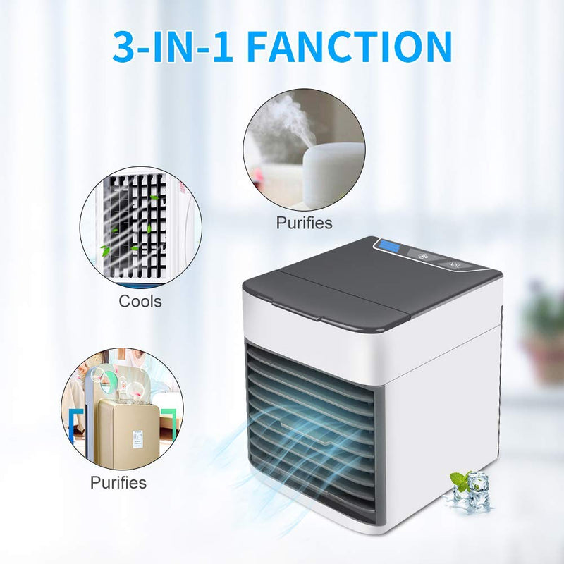 Mini Climatiseur Mobile Humidificateur d'Air ClimAir™