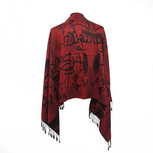 Lost Language Pashmina