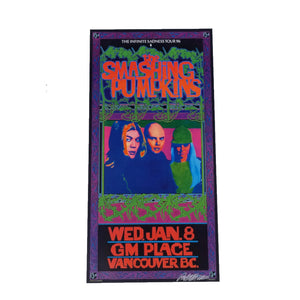 The Smashing Pumpkins Jan 8 Vancouver Concert Poster