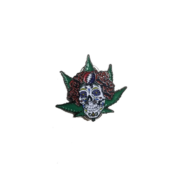 Grateful Dead Bertha Marijuana Leaf Pin