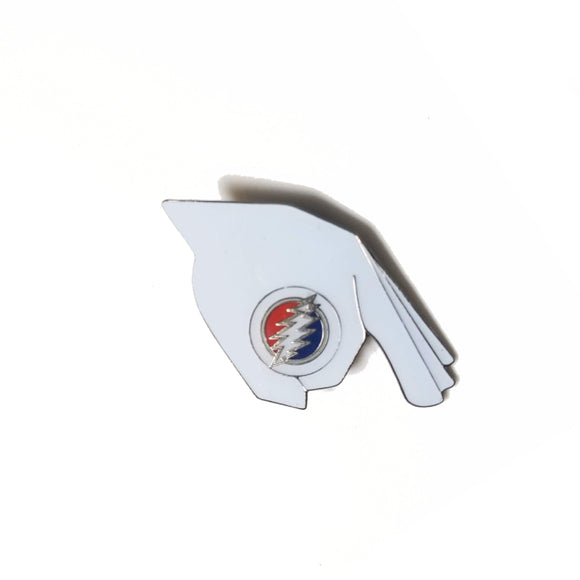 Grateful Dead Gotcha Lightning Bolt Pin