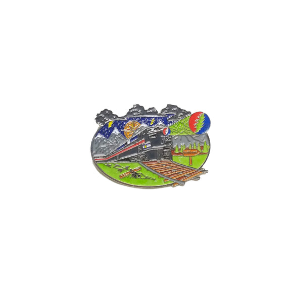 Grateful Dead I Know You Rider Pin