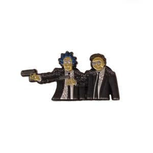Pulp Fiction Rick and Morty