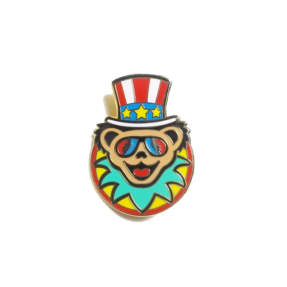 Grateful Dead Bear Uncle Sam