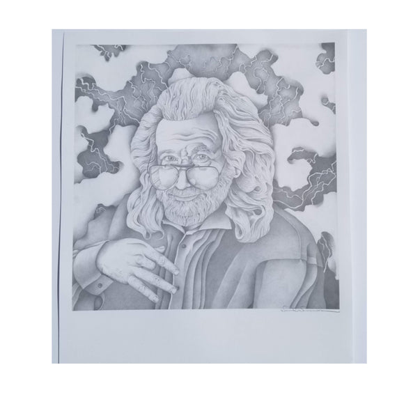Jerry Garcia Poster David Drennon
