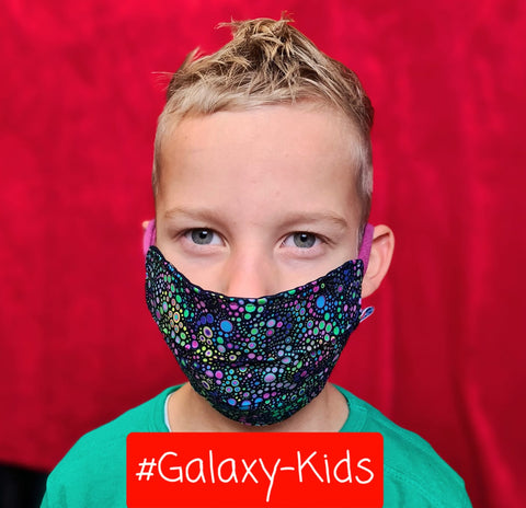 Kindermaske #Galaxy-Kids