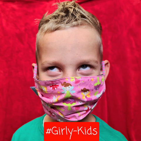 Kindermaske #Girly-Kids