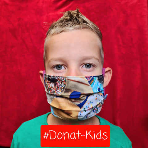 Kindermaske #Donat-Kids