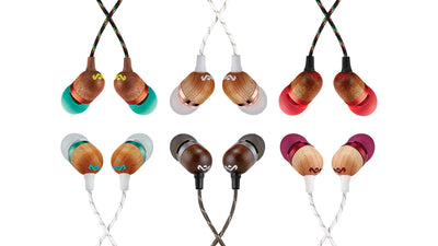 6 Vibrant Colours For Smile Jamaica™ In-ear Headphones