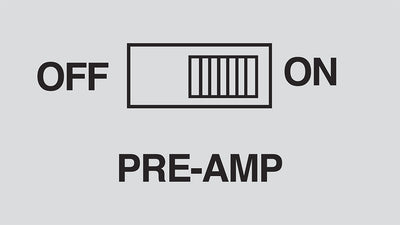 What Does The Built-in Pre-amp Do?