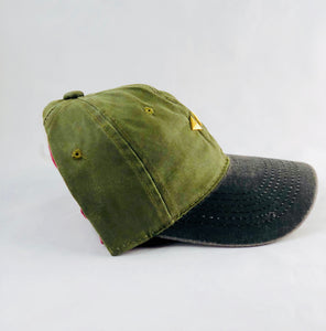 Dream Exclusive Hat [Black & Green Military]