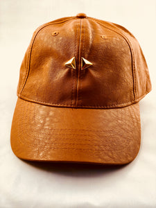 Dream Exclusive Hat [ Leather Khaki Hat]