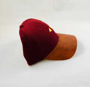 Dream Exclusive Hat [Leather Khaki Bottom & Barn Red Top Hat]