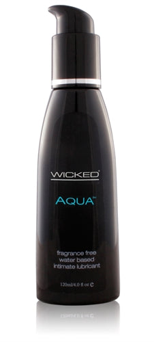 Aqua Water-Based Lubricant - 4 Oz. WS-90104