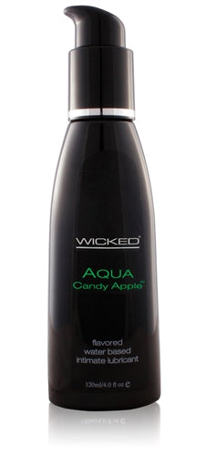 Aqua Candy Apple Flavored Water-Based Lubricant - 4 Oz. WS-90404