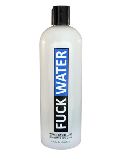 Fuck Water Water-Based Lubricant - 16 Fl. Oz.