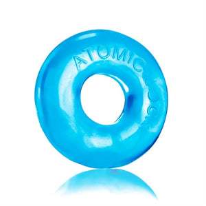 Do-Nut-2 Large Atomic Jock Cockring -Ice Blue OX-AJ1025-2-ICE