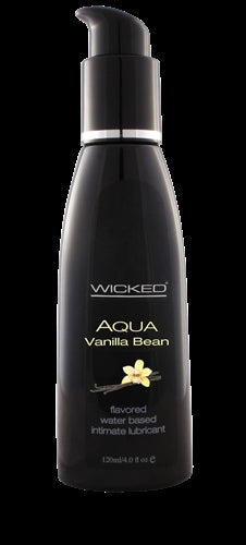 Aqua Vanilla Bean Flavored Water-Based Intimate Lubricant 2 Oz. WS-90332