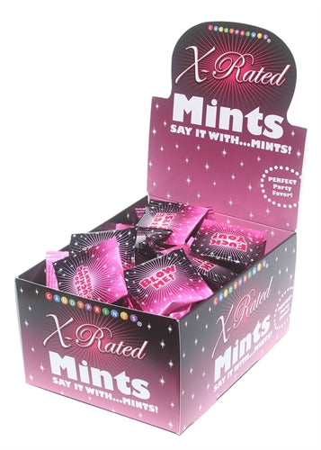 X-Rated Amuse Mints Display 100 Pieces 3.1g Bags CP-441