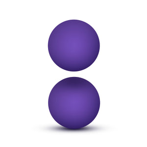 Luxe Double O Beginner Kegel Balls - Purple BL-56801