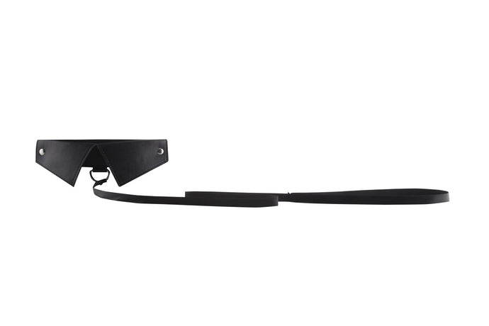 Classic Collar W / Leash - Black OU-OU144BLK