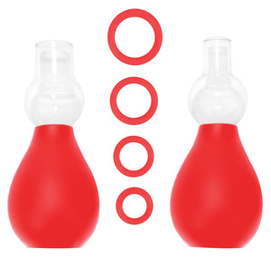 Nipple Erector Set - Red OU-OU056RED