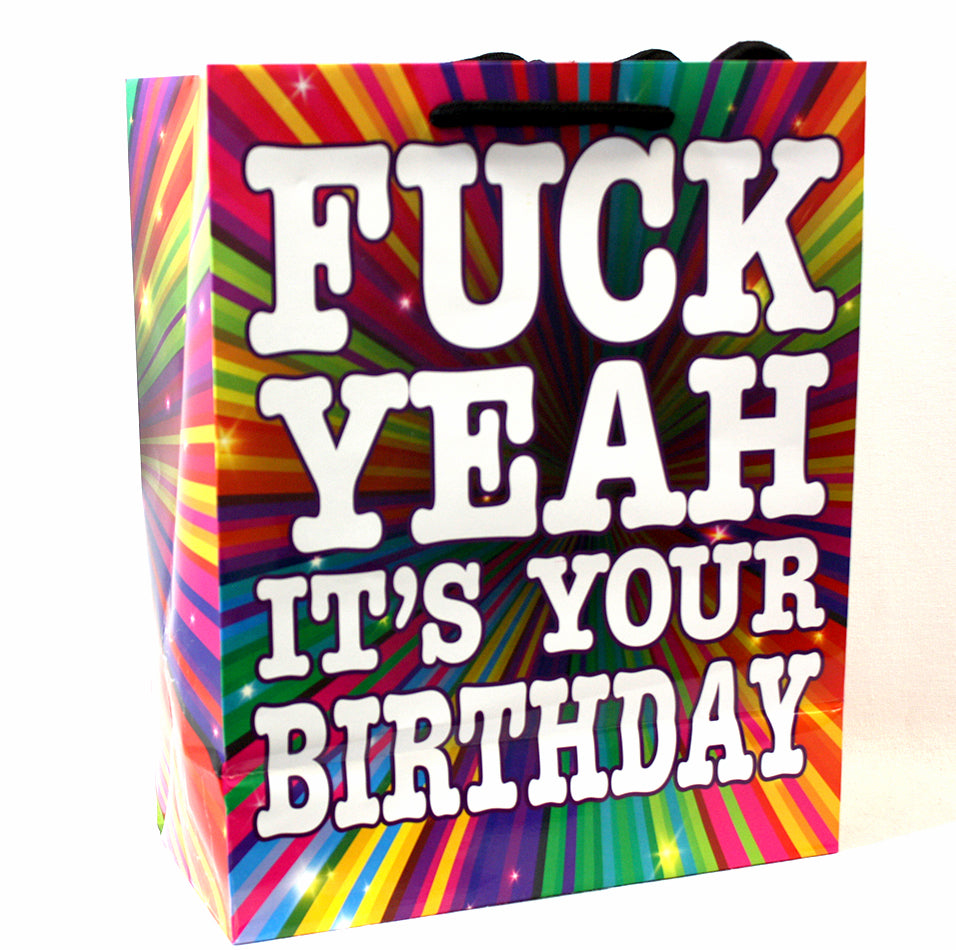 Fuck Yeah It's Your Birthday - Gift Bag K-GB396