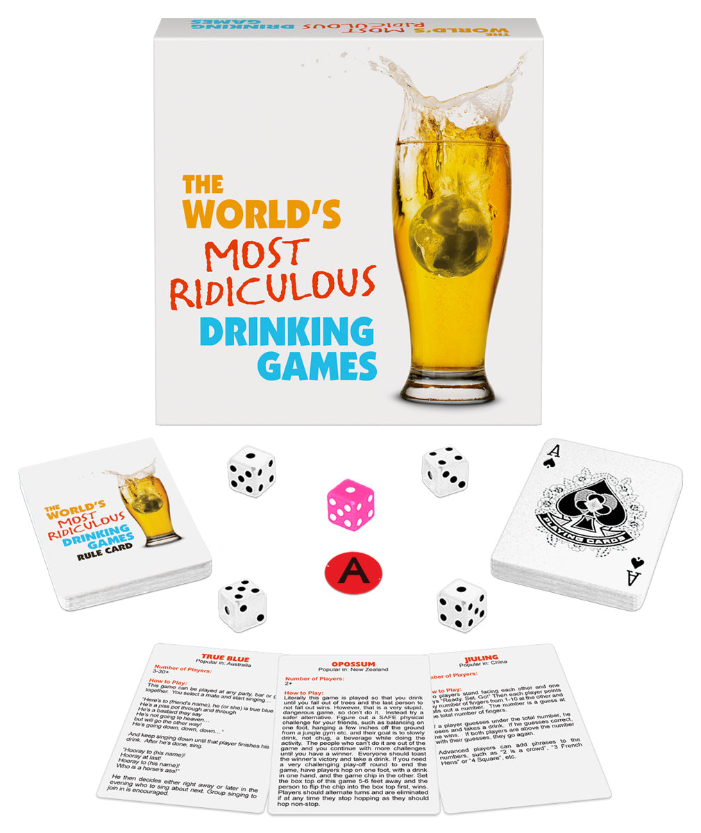 The World's Most Ridiculous Drinking Games KG-BGD122