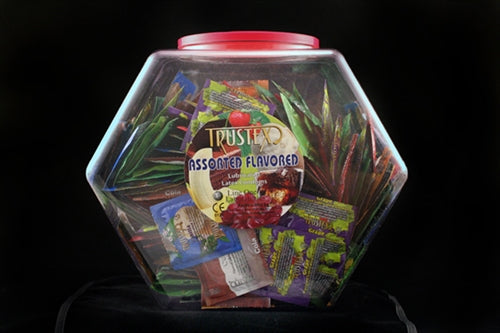 Trustex Assorted Flavors - 288 Piece Fishbowl AL-1050D