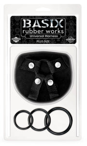 Basix Rubber Works - Universal Harness - Plus Size PD4320-02
