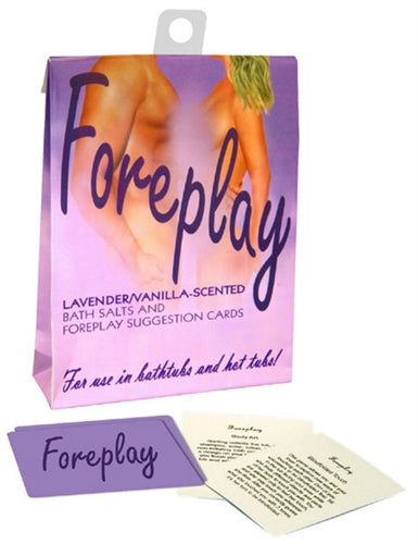 Foreplay Bath Set - Lavender and Vanilla KG-BGR27