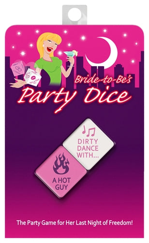 Bride-to-Be Party Dice KG-NVS24