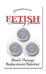 Fetish Fantasy Series Shock Therapy Replacement Batteries - 3 Pack PD4000-14