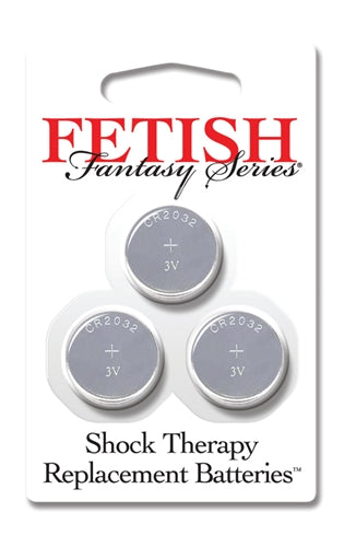 Fetish Fantasy Series Shock Therapy Replacement Batteries - 3 Pack
