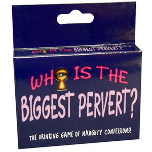 Who Is the Biggest Pervert? - Card Game KG-BGC103