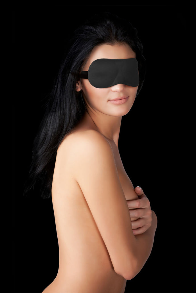 Curvy Eyemask for Naughty Pleasure - Black OU-OU150BLK