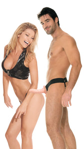 Fetish Fantasy Series for Him or Her Hollow Strap-on - Flesh PD3366-21
