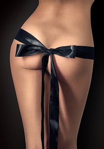 Silky Ribbon for Naughty Pleasure - Black OU-OU076BLK