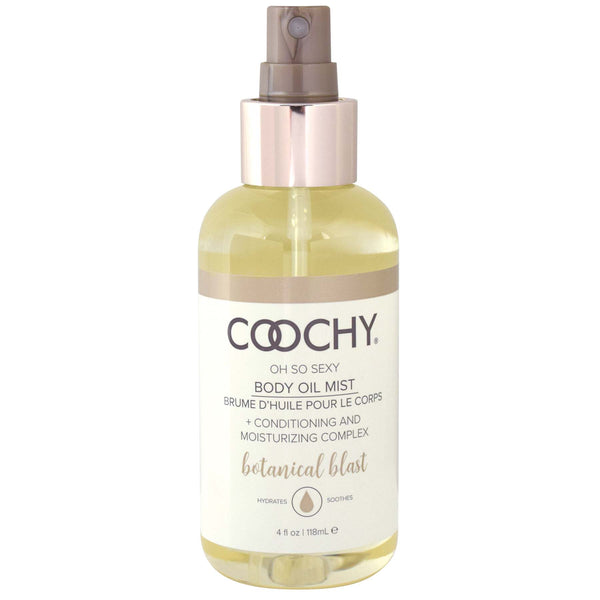 Coochy Body Oil Mist - 4 Oz