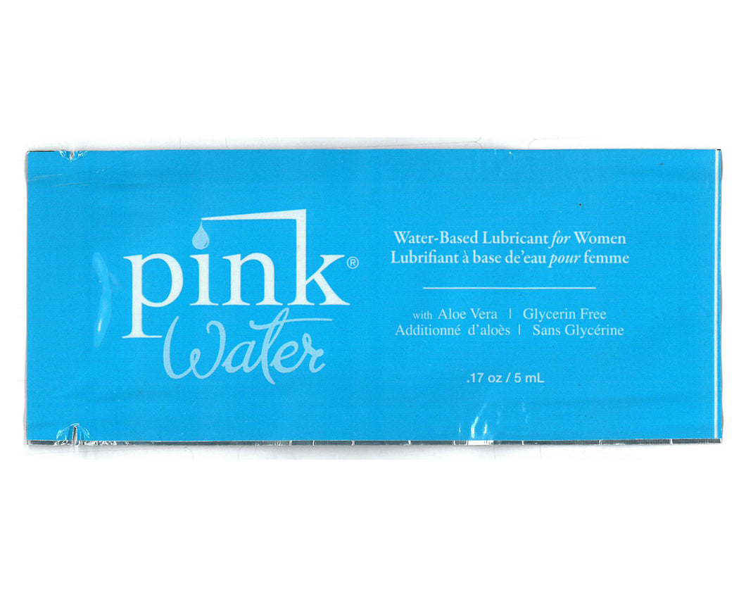 Pink Water - 1.7 Oz. Foil Packets - 50 Piece Bag PK-PW-SD