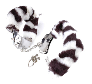 Fetish Fantasy Series Furry Cuffs - Zebra PD3804-41